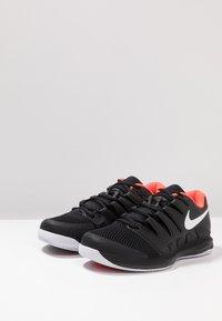 Nike Performance - AIR ZOOM VAPOR X - All court tennisskor - black/white/bright crimson - 2