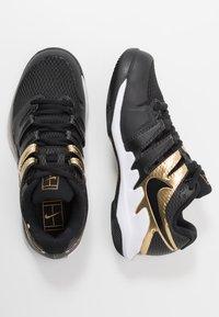 Nike Performance - AIR ZOOM VAPOR X - All court tennisskor - black/metallic gold/white - 1