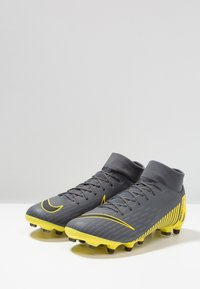 Nike Performance - MERCURIAL 6 ACADEMY MG - Fotbollsskor fasta dobbar - dark grey/black/opti yellow - 2