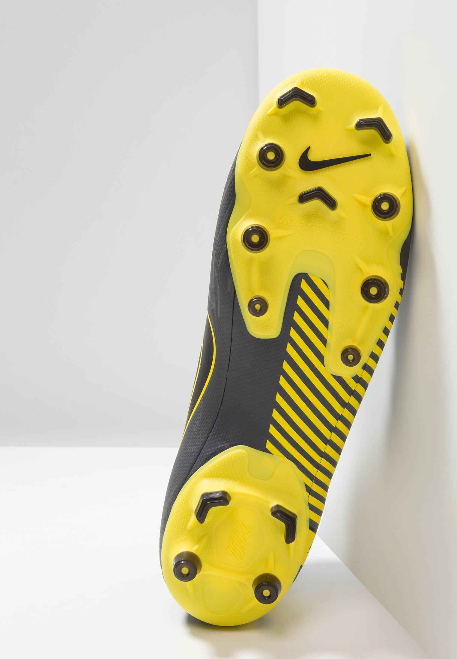 Nike 6 Academy black Yellow Foot Mercurial MgChaussures Performance Dark À Grey De Crampons opti 1FTlKJc