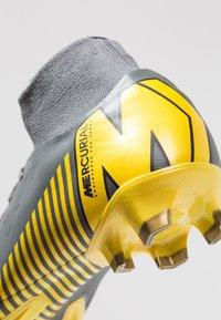 Nike Performance - MERCURIAL 6 PRO FG - Chaussures de foot à crampons - dark grey/black/opti yellow - 5
