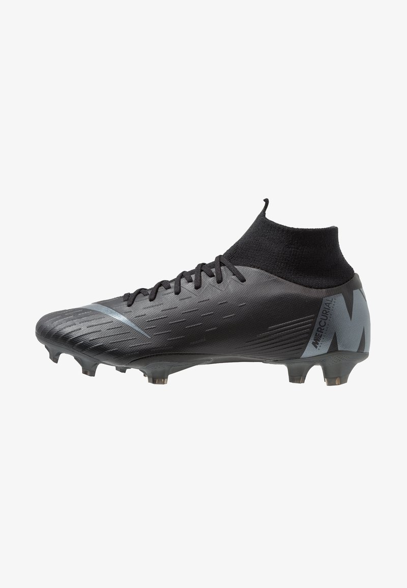 Nike Performance - MERCURIAL 6 PRO FG - Moulded stud football boots - black/anthracite/light crimson
