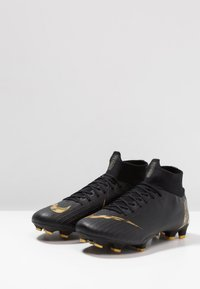 Nike Performance - MERCURIAL 6 PRO FG - Kopačky lisovky - black/metallic vivid gold - 2
