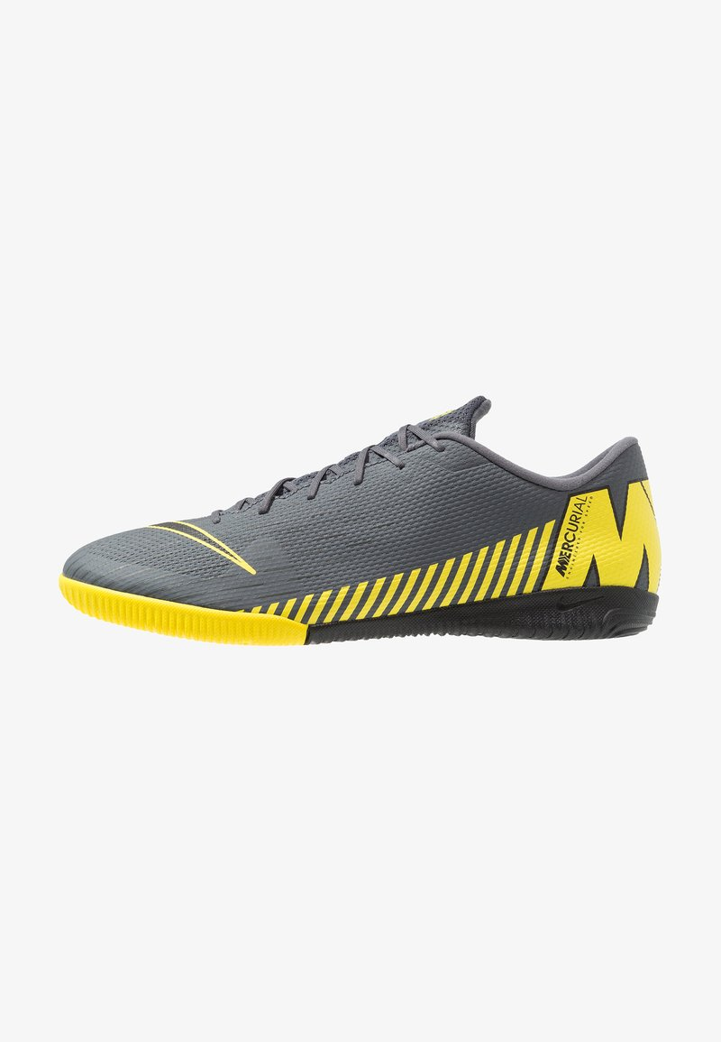 Nike Performance - MERCURIAL VAPORX  ACADEMY IC - Fußballschuh Halle - dark grey/black/opti yellow