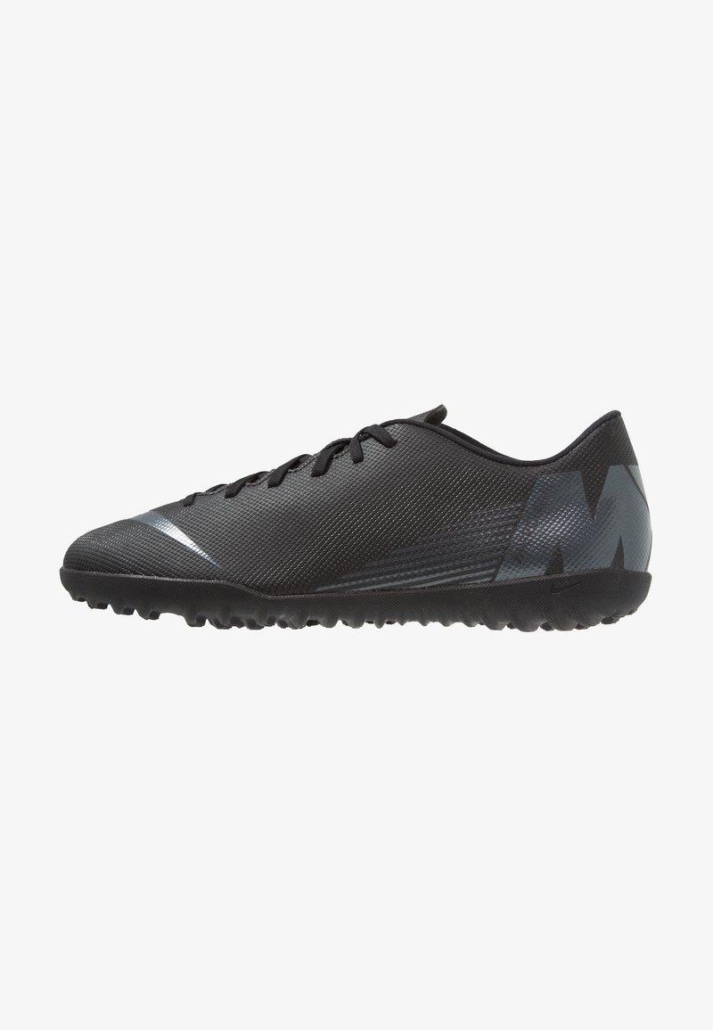 Nike Performance - MERCURIAL VAPORX 12 CLUB TF - Voetbalschoenen voor kunstgras - black/anthracite/light crimson