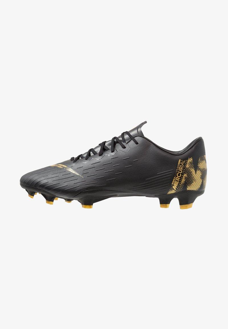 Nike Performance - MERCURIAL VAPOR 12 PRO FG - Fußballschuh Nocken - black/metalic vivid gold