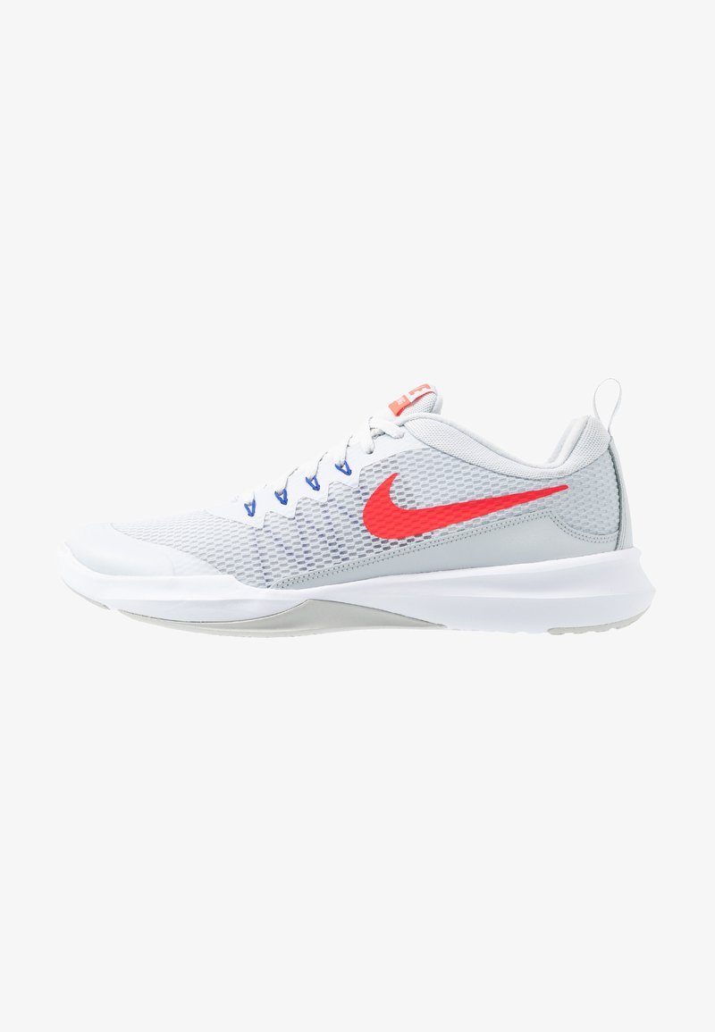 Nike Performance - LEGEND TRAINER - Træningssko - pure platinum/red orbit/racer blue