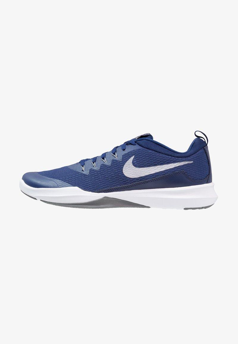Nike Performance - LEGEND TRAINER - Sportschoenen - blue void/metallic silver/cool grey