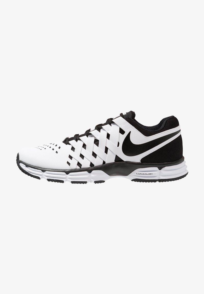 Nike Performance - LUNAR FINGERTRAP TR - Treningssko - white/black