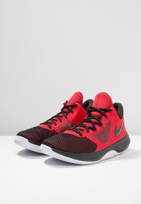 Nike Performance - AIR PRECISION II - Basketball shoes - university red/black/white - 2
