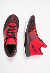 Nike Performance - AIR PRECISION II - Basketball shoes - university red/black/white - 1