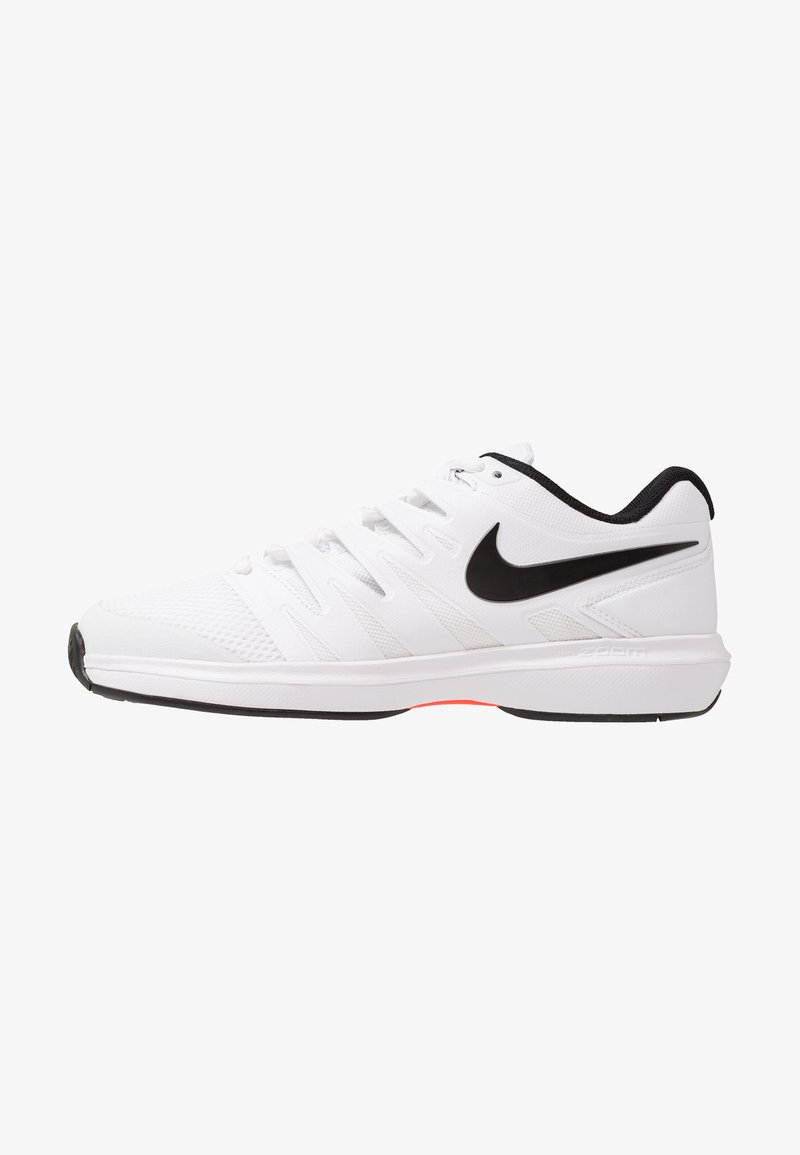 Nike Performance - AIR ZOOM PRESTIGE - Multicourt Tennisschuh - white/black/bright crimson