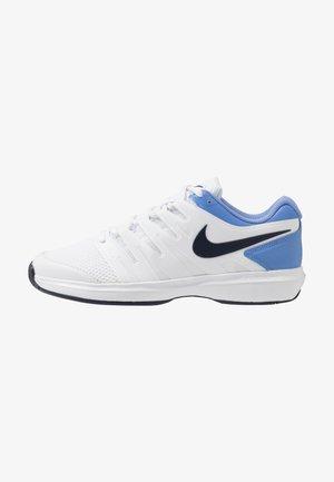 AIR ZOOM PRESTIGE - Tennisschoenen voor alle ondergronden - white/obsidian/royal pulse