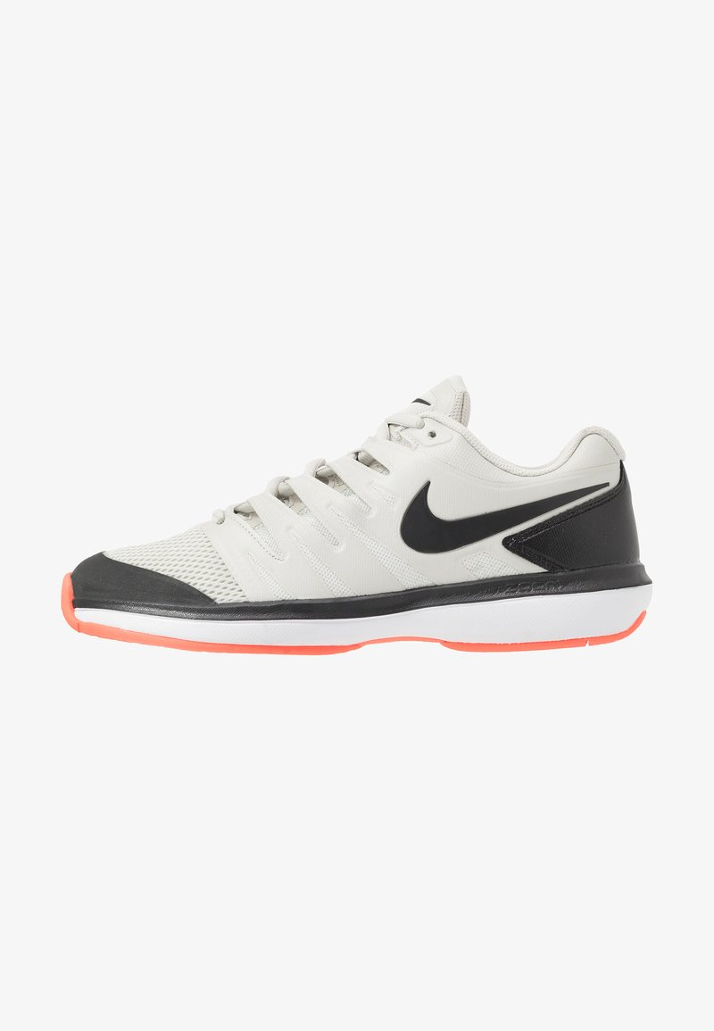 Nike Performance - AIR ZOOM PRESTIGE HC - Tennissko til multicourt - light bone/black/hot lava/white