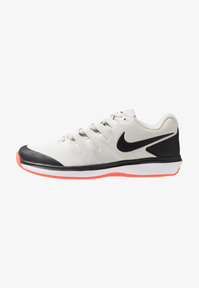 Nike Performance - AIR ZOOM PRESTIGE CLY - Tennissko til grusbane - light bone/black/hot lava/white
