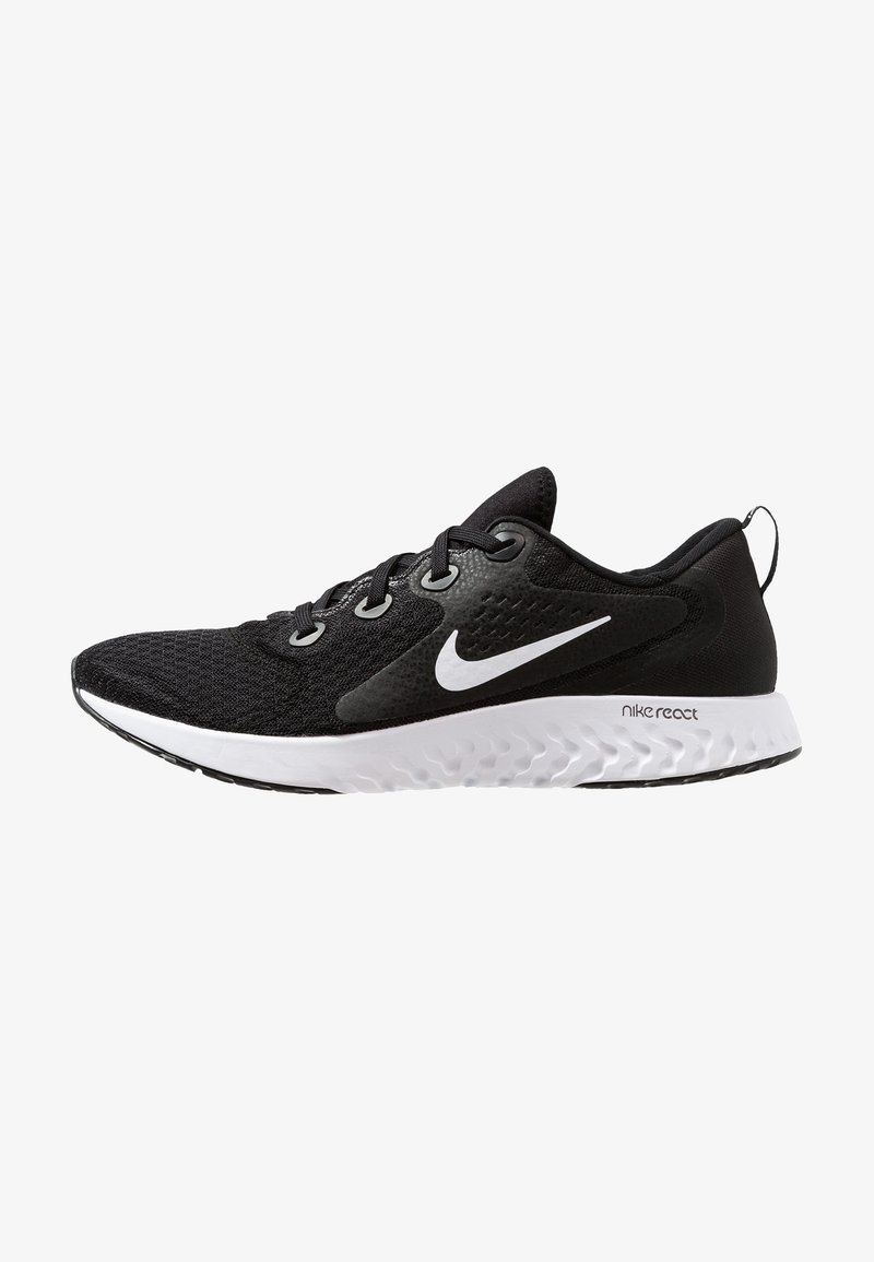 Nike Performance - LEGEND REACT - Laufschuh Neutral - black/white