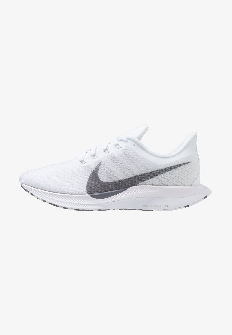 Nike Performance - ZOOM PEGASUS 35 TURBO - Laufschuh Neutral - white/gunsmoke/vast grey