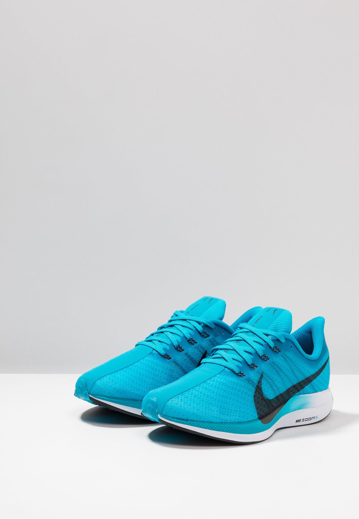 Nike Performance ZOOM PEGASUS 35 TURBO - Chaussures de running neutres blue lagoon/black/white