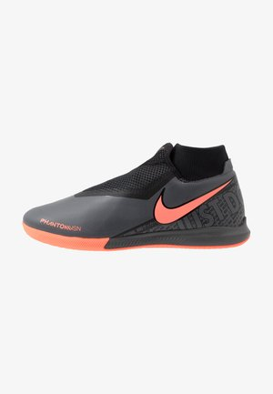 PHANTOM OBRAX 3 ACADEMY DF IC - Futsal-kengät - dark grey/bright mango/black