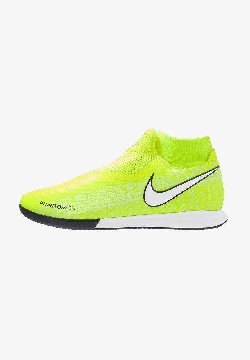 Nike Performance - PHANTOM OBRAX 3 ACADEMY DF IC - Indoor football boots - volt/white/obsidian