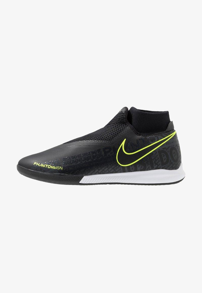 Nike Performance - PHANTOM OBRAX 3 ACADEMY DF IC - Fußballschuh Halle - black/volt