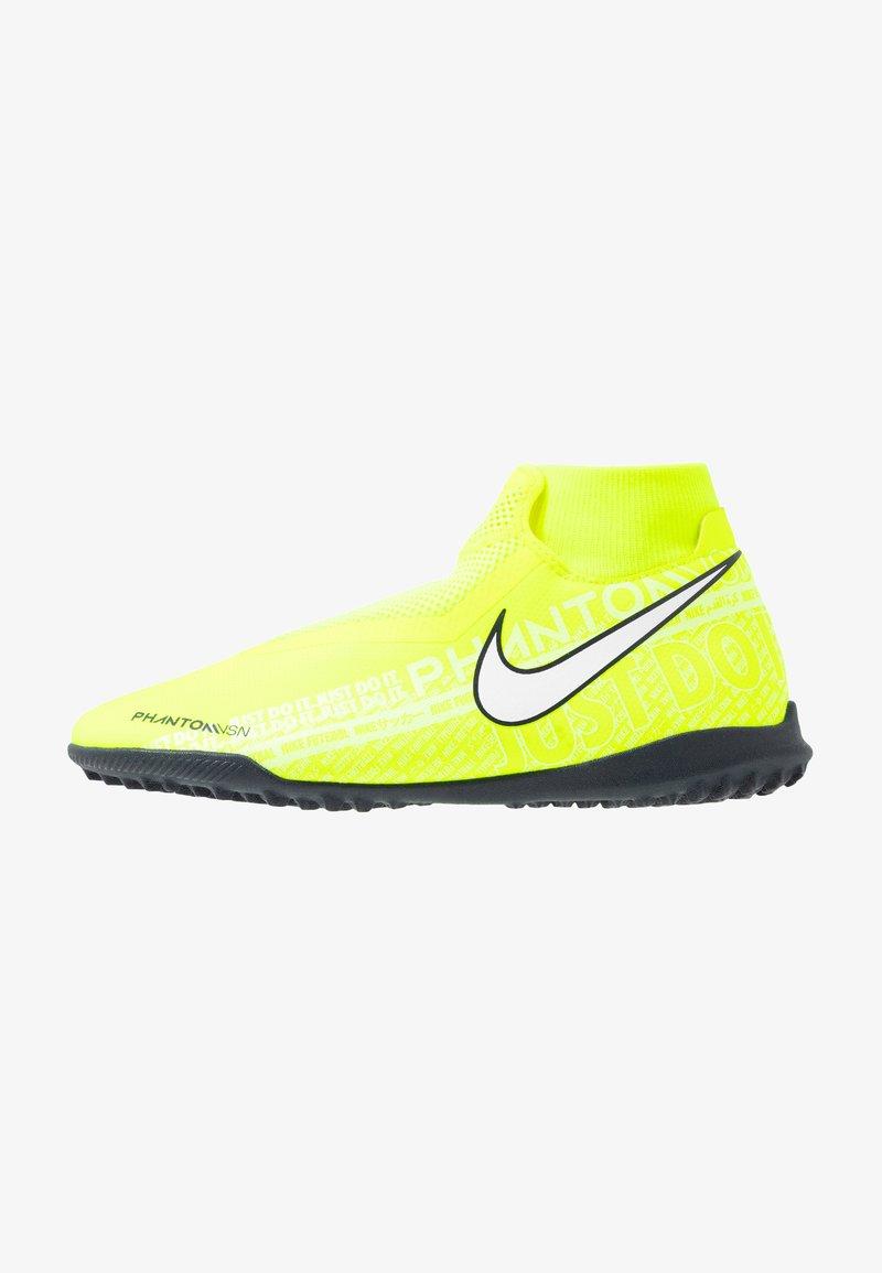 Nike Performance - PHANTOM OBRAX 3 ACADEMY DF TF - Astro turf trainers - volt/white/obsidian