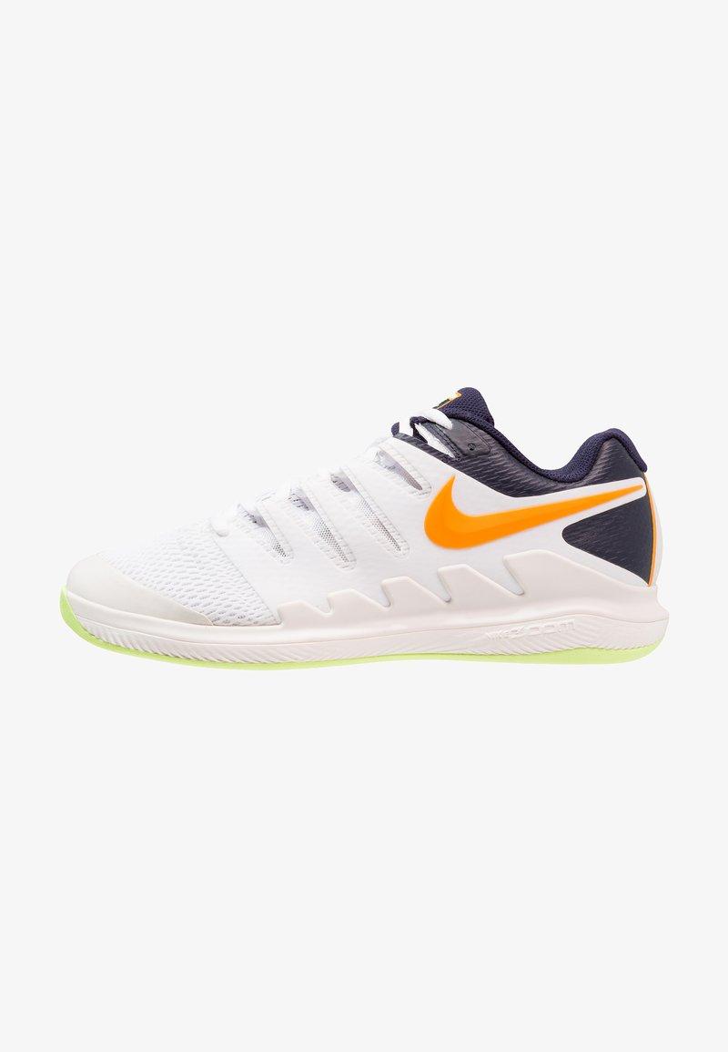Nike Performance - AIR ZOOM VAPOR X CPT - Tennisschuh für Teppichböden - phantom/orange peel/blackened blue/white/volt glow