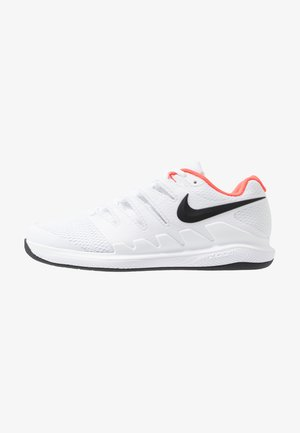 AIR ZOOM VAPOR X CPT - Carpet court tennis shoes - white/black/bright crimson