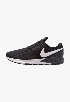 AIR ZOOM STRUCTURE 22 - Stabilty running shoes - black/white/gridiron