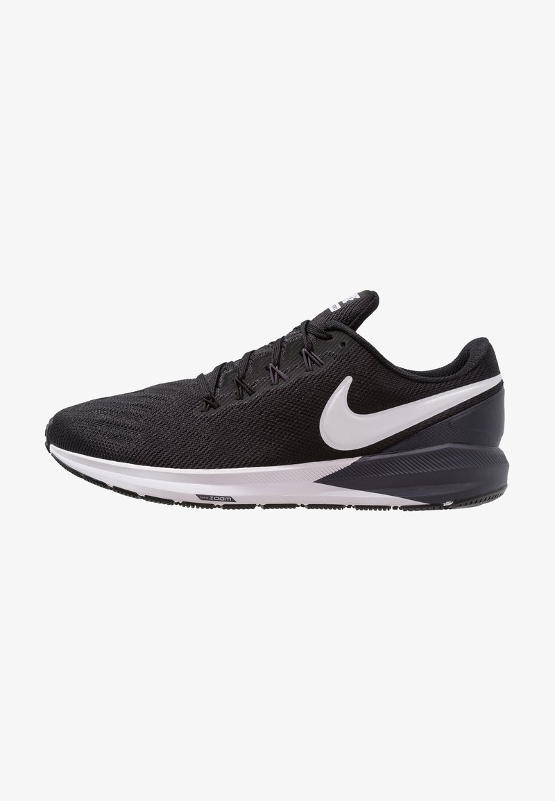 Nike Performance - AIR ZOOM STRUCTURE  - Laufschuh Stabilität - black/white/gridiron