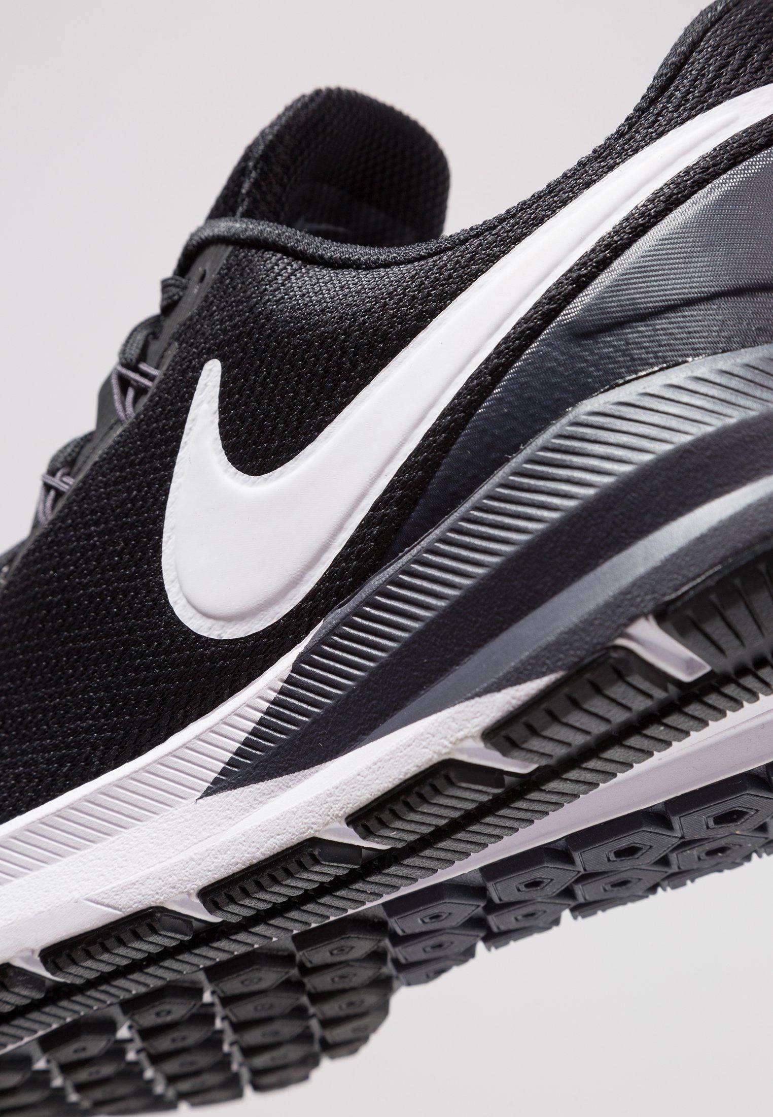 AIR ZOOM STRUCTURE 22 Chaussures de running stables blackwhitegridiron