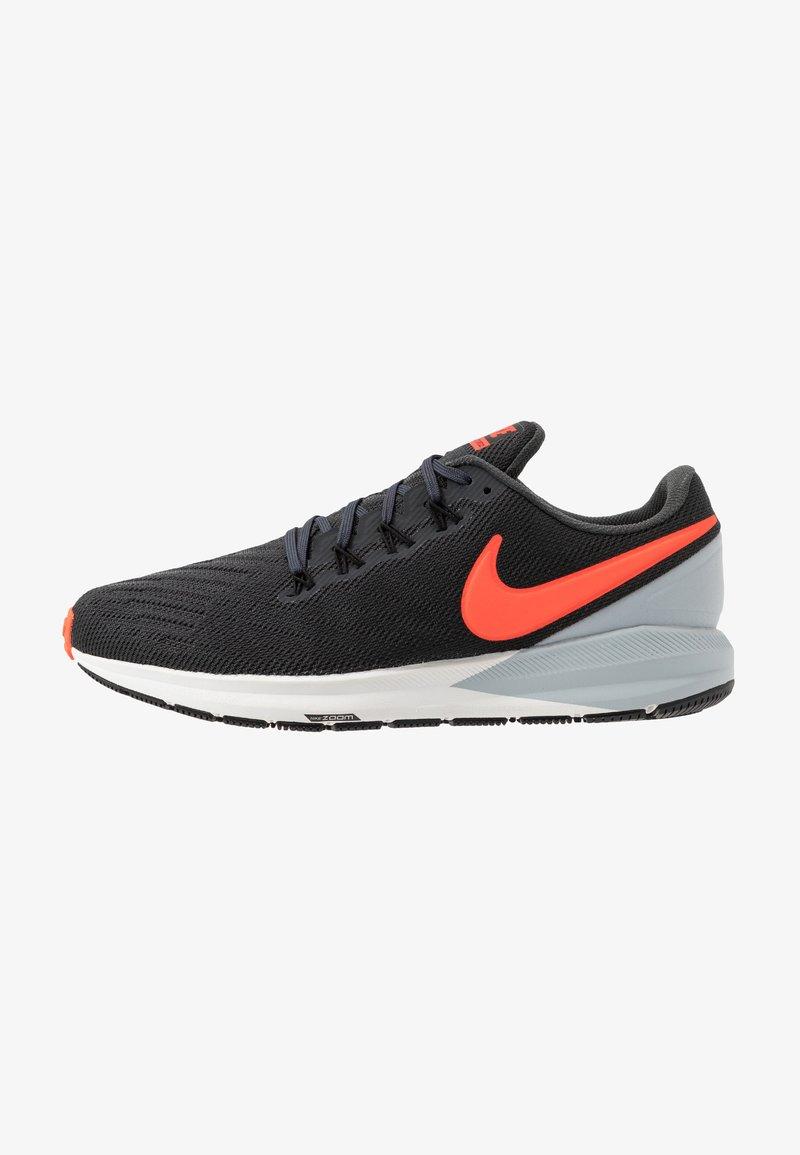 Nike Performance - AIR ZOOM STRUCTURE 22 - Löparskor stabilitet - anthracite/bright crimson/wolf grey