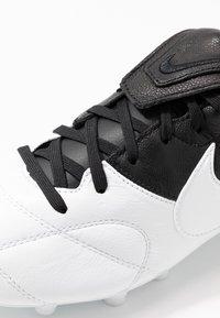 Nike Performance - THE PREMIER II FG - Korki Lanki - white/black - 5