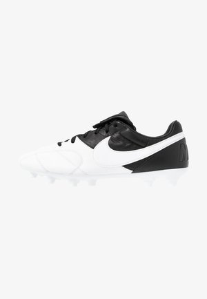 THE PREMIER II FG - Chaussures de foot à crampons - white/black