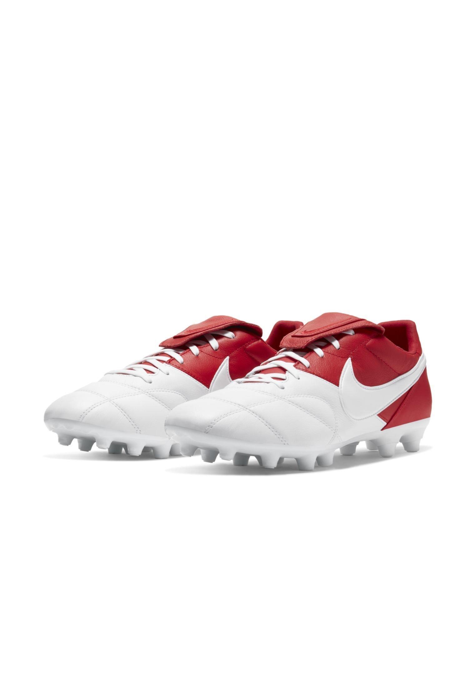 Nike Performance The Premier Ii Fg - Voetbalschoenen Met Kunststof Noppen University Red/university Red/white Goedkope Schoenen