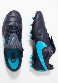 Nike Performance - THE PREMIER II FG - Voetbalschoenen met kunststof noppen - obsidian/light current blue/black - 1