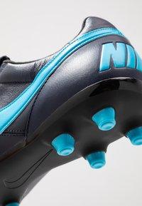 Nike Performance - THE PREMIER II FG - Voetbalschoenen met kunststof noppen - obsidian/light current blue/black - 5