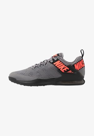 ZOOM DOMINATION TR 2 - Chaussures d'entraînement et de fitness - gunsmoke/flash crimson/black