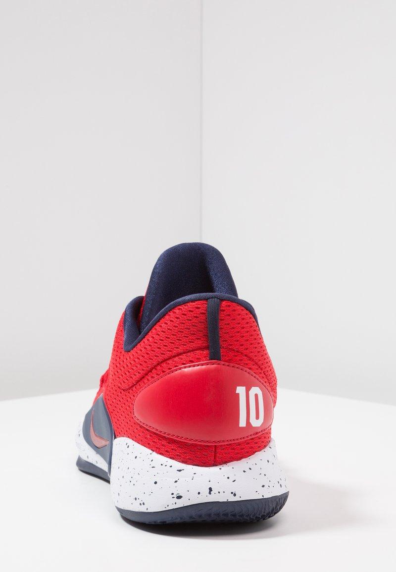 soplo Trampolín Productivo  Nike Performance HYPERDUNK X - Basketball shoes - university red/midnight  navy/white - Zalando.ie
