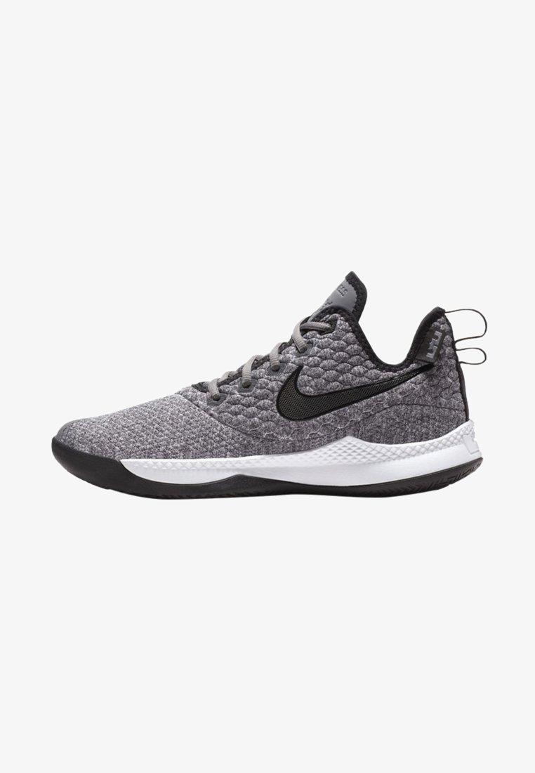 Nike Performance - LEBRON WITNESS III - Basketbalschoenen - dark grey/white/black