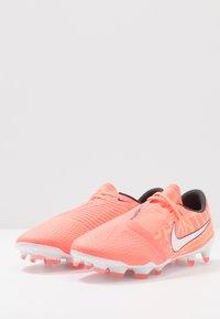 Nike Performance - PHANTOM PRO FG - Scarpe da calcetto con tacchetti - bright mango/white/orange/anthracite - 2