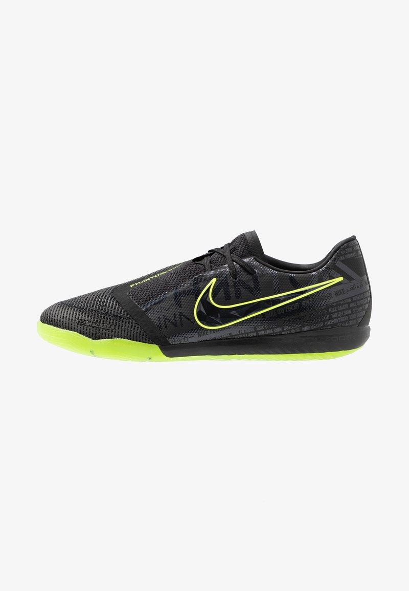 Nike Performance - ZOOM PHANTOM PRO IC - Futsal-kengät - black/volt