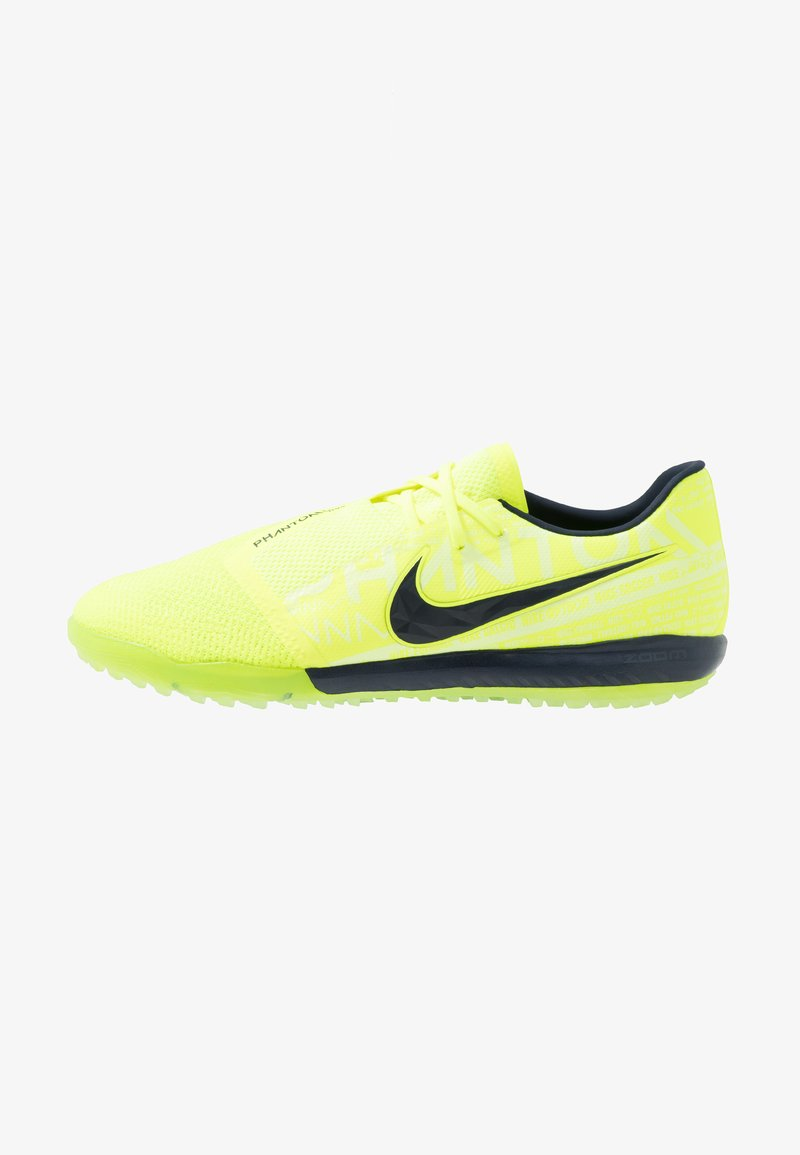 Nike Performance - ZOOM PHANTOM PRO TF - Astro turf trainers - volt/obsidian/barely volt