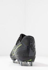 Nike Performance - PHANTOMVNM ACADEMY SG-PRO ANTI-CLOG TRACTION - Nurmikengät - black/volt - 3