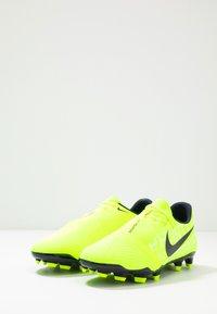 Nike Performance - PHANTOM  ACADEMY FG - Voetbalschoenen met kunststof noppen - volt/obsidian/volt/barely volt - 2