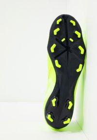 Nike Performance - PHANTOM  ACADEMY FG - Voetbalschoenen met kunststof noppen - volt/obsidian/volt/barely volt - 4