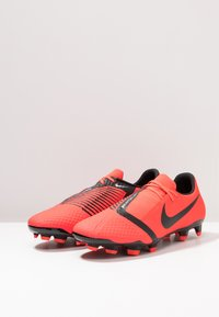 Nike Performance - PHANTOM  ACADEMY FG - Voetbalschoenen met kunststof noppen - bright crimson/black/metallic silver - 2