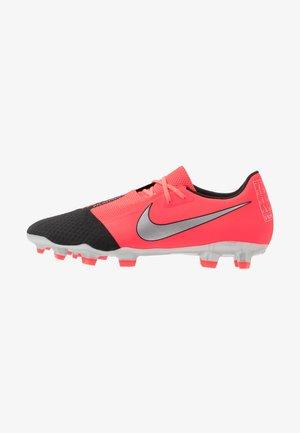 PHANTOM  ACADEMY FG - Botas de fútbol con tacos - laser crimson/metallic silver/black