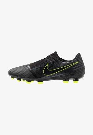PHANTOM  ACADEMY FG - Chaussures de foot à crampons - black/volt