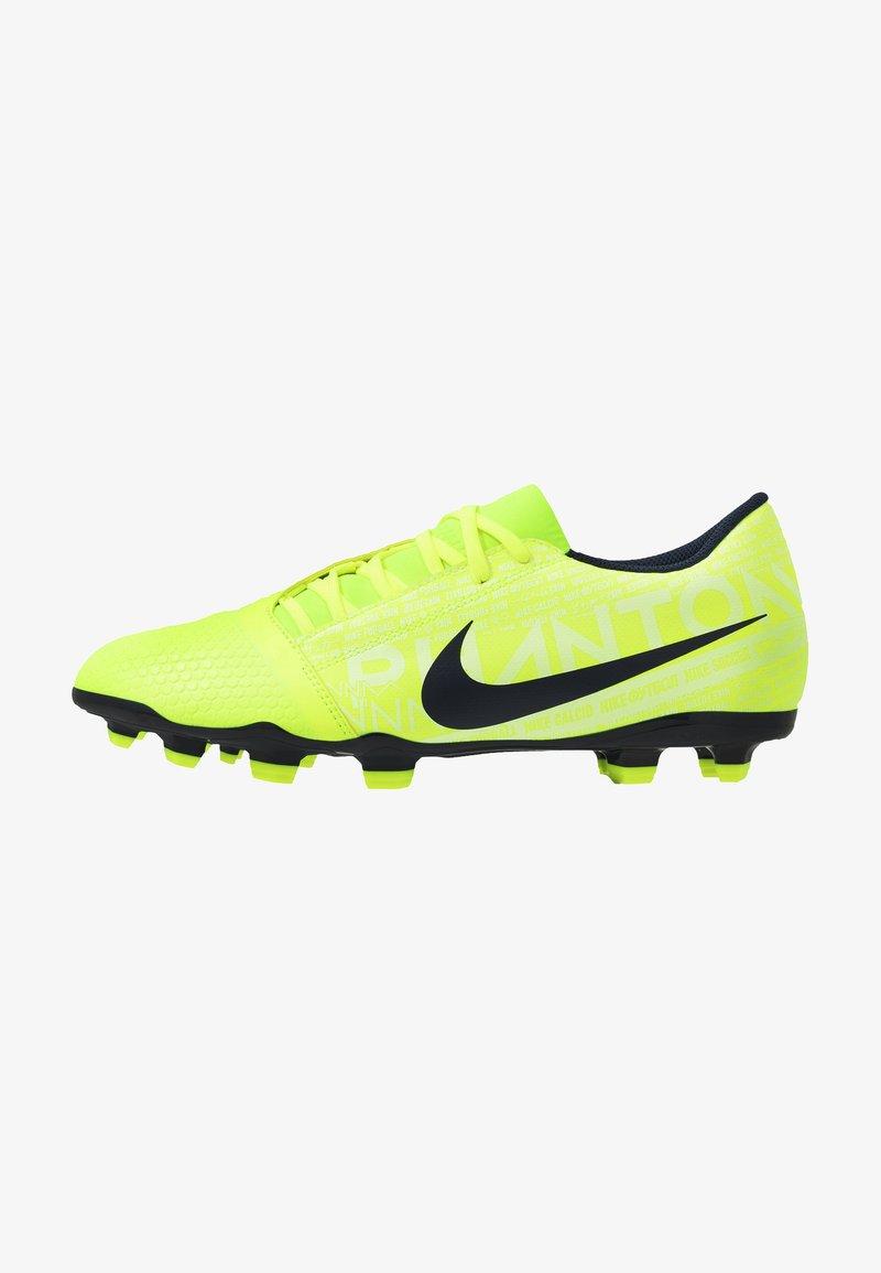 Nike Performance - PHANTOM CLUB FG - Moulded stud football boots - volt/obsidian/barely volt